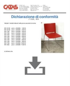 Certificate CATAS EN 1728 Multi