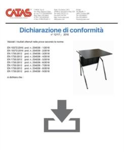 Certificate CATAS EN 1730 Pitagora