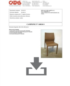 Certificate CATAS EN 1728 Hoth
