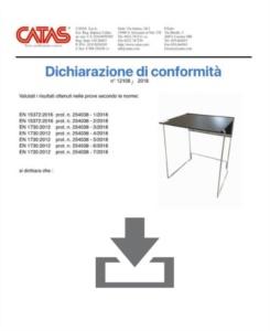 Certificate CATAS EN 1730 Galileo