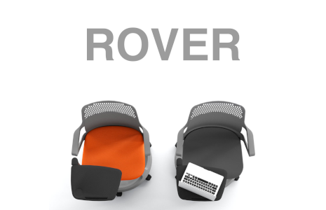 Mobile chair Rover for school and meeting
