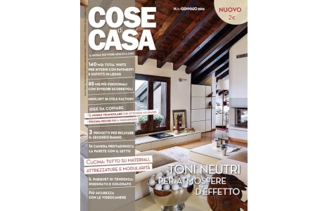 Italian furniture magazine Cose di Casa