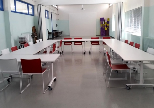 Educational stackable furniture for school and training