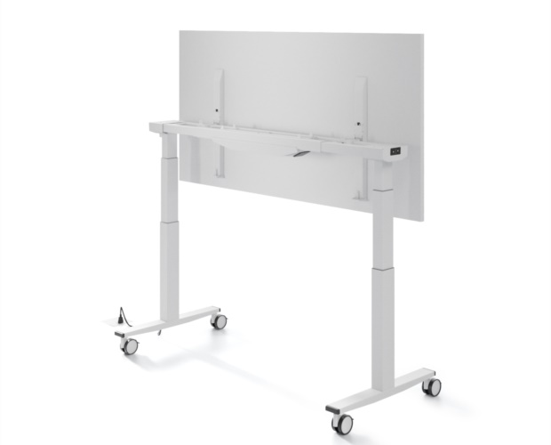 Electrically height adjustable Telemaco table