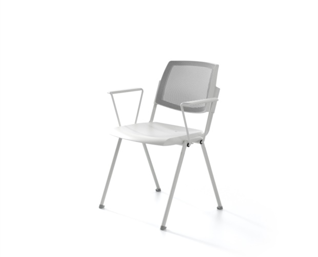 Chair with mesh backrest Wampa Mesh